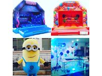 Bouncy Castle Hire, Mascots, DJ + more!