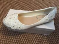 Bridal flat shoes