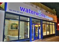 Waterworks Bathrooms, design, supply and fitting company, all your bathroom needs in 1 store