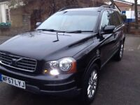 Black Volvo xc90 2.4 diesel, automatic, seven seats, drives nice , service history,