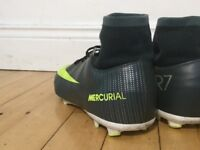 Nike Mecurial football boots CR7 size 5.5