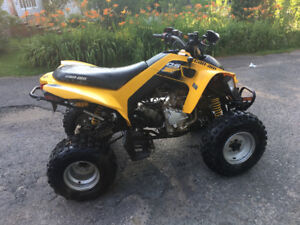 Can Am Ds 250 for cheap! Need gone