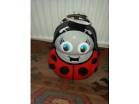Skyflite Kidz Ladybird suitcase. Never been used. Still has price labels on. £30