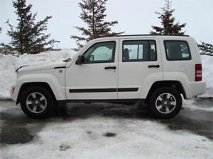 2008 JEEP LIBERTY SPORT 4DR 4X4 3.7L 203K ONLY $7,875.