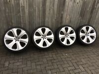 22inch Khan RSD Alloy Wheels and Tyres