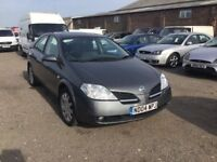 2004 NISSAN PRIMERA FULLY LOADED SAT NAV REVERSE CAMERA LOADS OF HISTORY IN VGCONDITION MOT ANYTRIAL