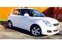 Suzuki Swift 2010, 1.3, White, Long MOT, 5Door