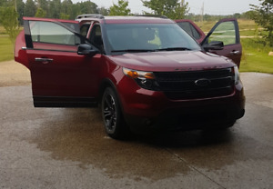 2014 Ford Explorer Sport with Prepaid Maintenance + Ext Warranty