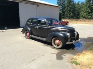 1939 ford Fordor