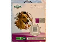 Staywell Pet door - Medium dog - Never opened!
