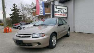 2004 Chevrolet Cavalier / CERTIFIED / DYNASTY AUTO