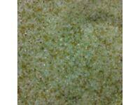 Sandblasting abrasive shot sand grit soda blasting blast media - glass £8 EACH 25KG
