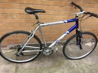 Hybrid barracuda mountain bike
