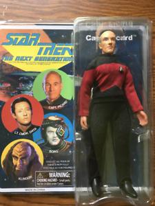 "Star Trek 8"" Retro Cloth Figure : Captain Picard"