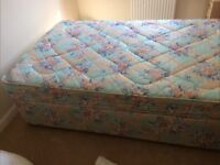 3/4 size bed with mattress