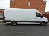 Man With A Van LWB Sprinter Available For Local And National Deliveries
