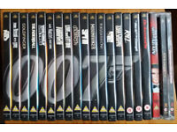 James Bond 007 collection of 20 DVDs