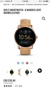 Fossil Smartwatch - rose gold
