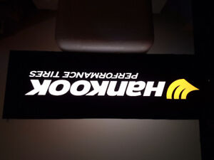 HANKOOK lighted advertising tire  sign