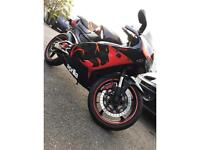 Aprilia rs125 2stroke - Italkit 140cc - very fast learner legal bike