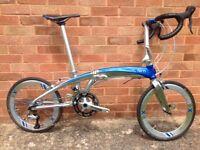 Tern Verge X18 Folding Fast Bike. V Little Use. Eats Brompton, Dahon, Birdy :)