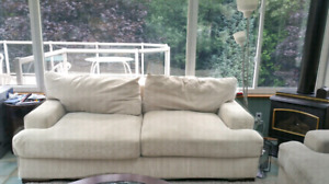 Sofa and love seat. Excellent condition