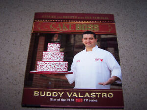 Cake Boss - SIGNED HARDCOVER book by Buddy Valastro