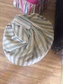 Andrew Martin Fabric Bean Bag