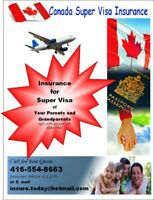 Super Visa Insurance for Parents and Grandparents