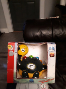 Autographed green bay packers NFL edition toy