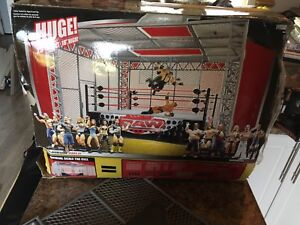 Wwe wrestling ring hell in a cell almost complete $25