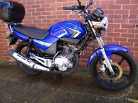 Yamaha YBR 125 2009 excellent condition only 5k miles 12 months mot