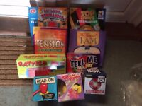 Assorted Games All in Excellent Condition - 9 In Total