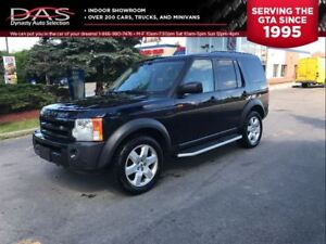 2008 Land Rover LR3 V8 HSE NAVIGATION/PANORAMIC ROOF/7 PASS