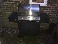 Samba double gas grill barbecue