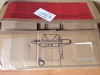 BRAND NEW BOXED Gas BBQ grill with side burner - 2 burner RRP £109