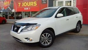 2016 Nissan Pathfinder S 7 PLACES JAMAIS ACCIDENTÉ 5000LBS CAP R