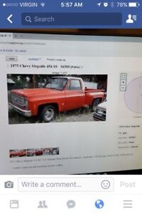 Looking for a old 1980s chev