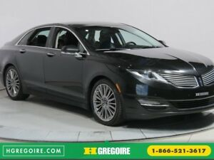 """2013 Lincoln MKZ V6 AWD CUIR TOIT PANO MAGS 19"""""""