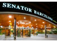 Holiday to Barcelona - Senator Barcelona Spa Hotel 31st July - 4th Aug