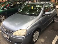 Silver Vauxhall Corsa for sale! Great Condition, Great first car!