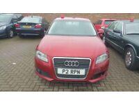 Audi A3 1.8 TFSI 5 door petrol red 2008 face lift 158 BHP HPI CLEAR SALVAGE EASY REPAIR