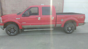 2006 Ford F-350 Pickup Truck Theft Recovery Lifted and Chipped