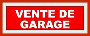 VENTE DE GARAGE 19 ET 20 AOÛT - 5 FAMILLES RÉUNIES