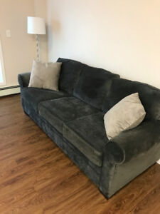 Couch Charcoal Grey