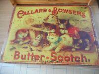 Butterscotch retro cutting board in heavy duty glass GC