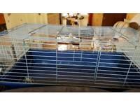 Rabbit/Guinea pig indoor cage. B