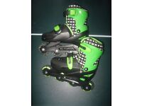 Childrens Inline Skates Size 13-3 adjustable