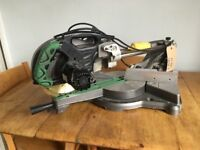 110v hitachi compound mitre saw