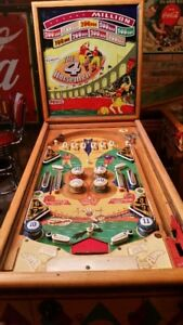 LOOKING FOR VINTAGE WOODRAIL PINBALL MACHINES